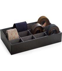 leather tie storage