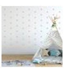 adesivo decorativo de parede - kit com 230 estrelas - 005kaa14