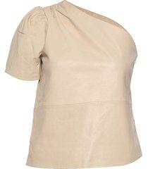 2nd erika blouses short-sleeved creme 2ndday
