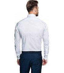 koszula bexley 2800 długi rękaw slim fit biały