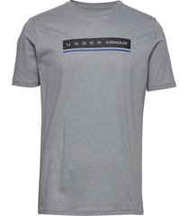 ua reflection ss t-shirts short-sleeved grå under armour