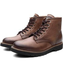 bota coturno black boots dublin masculina