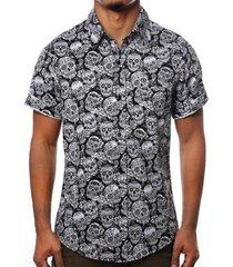 camisa camaleão urbano caveiras diamond masculina