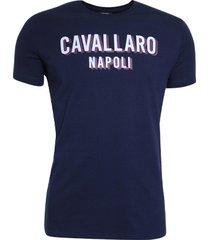 cavallaro cavallaro t-shirt blauw