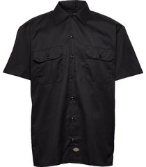 short sleeve work shirt kortärmad skjorta svart dickies