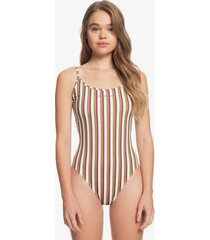 quiksilver womens the geo one-piece swimsuit