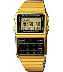 reloj casio dbc_611g_1 dorado acero inoxidable