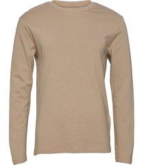 jjephilly tee ls crew neck t-shirts long-sleeved brun jack & j s