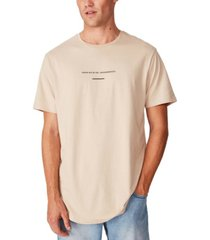 cotton on longline scoop hem t-shirt