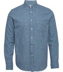 liam ba shirt 11245 overhemd casual blauw samsøe samsøe