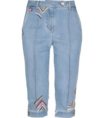 ermanno scervino denim capris