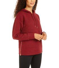 ideology zip-hem hoodie, created for macy's