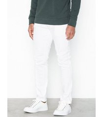 river island cord skinny wale jeans white