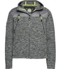 mountain ziphood hoodie trui grijs superdry