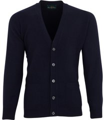 alan paine vest cornwall navy