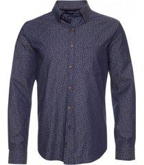 camisa indigo estampada regular fit mcgregor