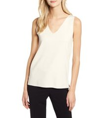 women's anne klein double v-neck sweater tank