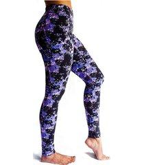 leggings deportivo tobillero estampado mujer morado tykhe mara
