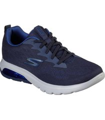 zapatilla go walk air - nitro azul marino skechers