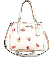 coach f38417 minetta crossbody shoulder bag handbag purse field flora chalk out
