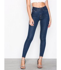 gina tricot molly high waist jeans slim rinse