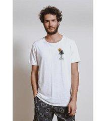t-shirt bordado palms masculina