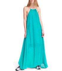 women's rag & bone melody silk & cotton maxi dress