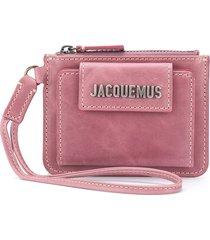 jacquemus le porte olive wallet - purple