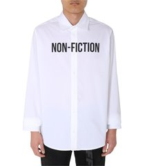 bedrukt overhemd