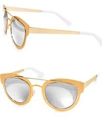 49mm jolene round sunglasses