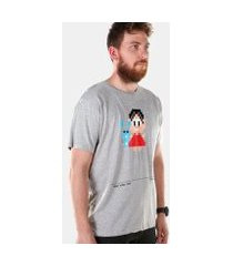 camiseta bandup! turma da mônica 50 anos anos 80 masculina