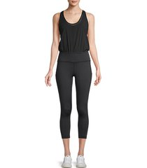 tank cropped jumpsuit