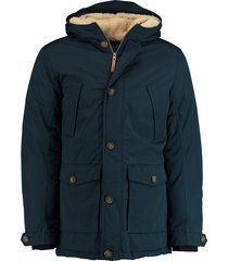 district dons parka mf7530193/533 blauw