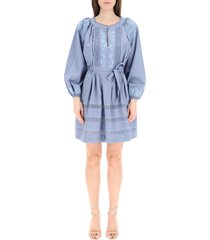 etro arbe embroidered dress