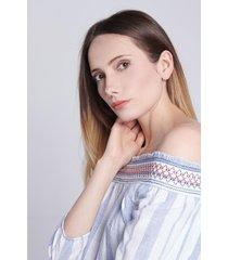 blusa off shoulder koaj - blanco