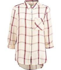 garcia soepele langere modal blouse