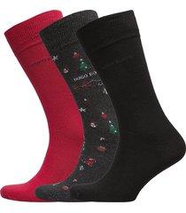 3p rs gift set cc underwear socks regular socks multi/mönstrad boss