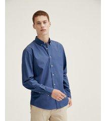 camisa  azul equus muniellos