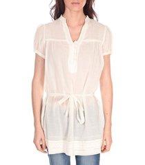 blouse vision de reve tunique claire 7090 ecrue