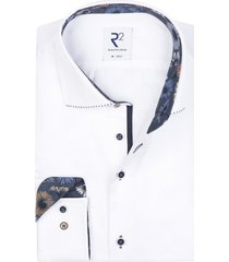 r2 shirt wit print in boord