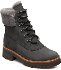 courmayeur valley wp 6in shoes boots ankle boots ankle boots flat heel grå timberland