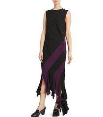 jacquard curl dress