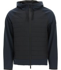 woolrich bonded full zip technical jacket