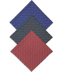 construct x best friends unisex mini paw print bandanas, 3 pack