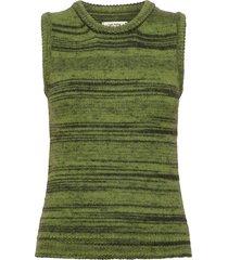 khloe waistcoat knitwear vests-indoor grön nué notes
