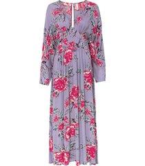 abito lungo in 100% viscosa (viola) - bodyflirt boutique