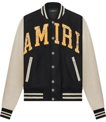 vintage applique varsity jacket