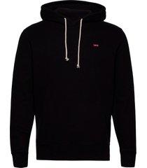 new original hoodie mineral bl hoodie trui zwart levi´s men