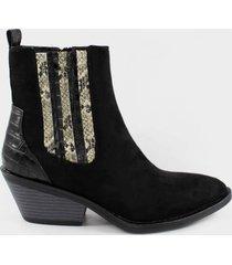 botin casual caterine negro stylo shoes