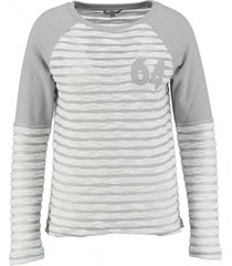 broadway grijze sweater